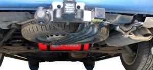 VW T5 LPG vapour tank